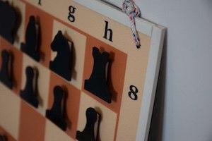 Доска шахматная демонстрационная 40х40 см