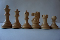 Шахматные фигуры JAQUES Ebonised 9,5