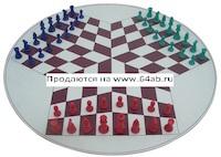 """шахматы """"Для троих"""""""