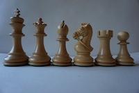 Шахматные фигуры Kings Bridal Ebonised  9,5см