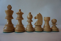 Шахматные фигуры German Knight Sheesham  7,6 cм