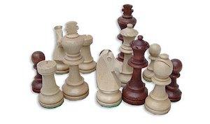 """шахматные фигуры деревянные """"Staunton №7"""""""