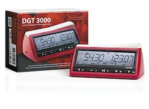 """шахматные часы электронные """"DGT 3000"""""""
