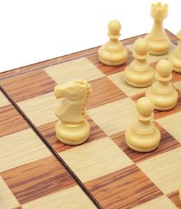 Магнитные шахматы пластмассовые Малые