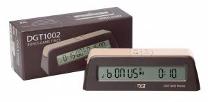 Шахматные часы электронные DGT 1002 BONUS