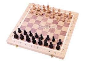 шахматы Олимпийские Малые Дубовые, код 122-AD