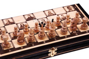 """шахматы + шашки + нарды """"Президенты"""", код 144AP"""