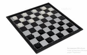 Магнитные шахматы + шашки Дорожные, код 3810-B