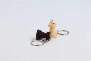 брелоки для ключей шахматные деревянные