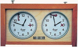 """шахматные часы механические """"Garde"""""""
