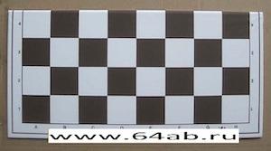 доска виниловая, складывающаяся пополам (51 х 51 см)
