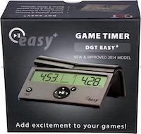 Шахматные часы электронные DGT EASY Plus