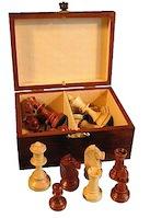 шахматные фигуры деревянные Staunton №4