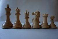 Шахматные фигуры Stallion Knight Ebonised 8,9см