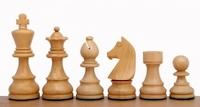 Шахматные фигуры German Knight Ebonised 9,5 cм