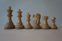 Шахматные фигуры Jaques Sheesham 8,9cм