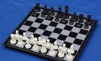 Магнитные шахматы пластмассовые Средние
