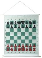 "демонстрационная магнитная шахматная доска ""Тубус"""
