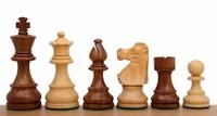 Шахматные фигуры French Sheesham 8,9 см