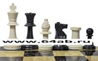 Шахматные фигуры пластмассовые без утяжеления король 9,5 см