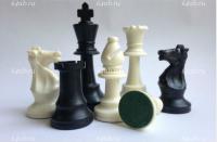 Шахматные фигуры пластмассовые с утяжелением король 9,5 см  , код DCP03h