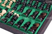 шахматы Средняя Жемчужина с вставками, код 134-A
