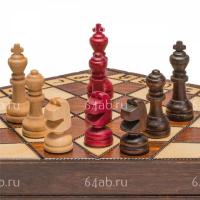 шахматы для троих Малые, код 164