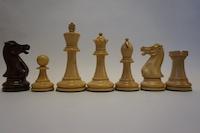 Шахматные фигуры Индийские EXECUTIVE SHEESHAM 8,9 см