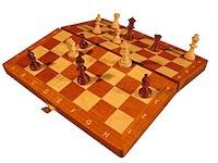 """шахматы """"Магнитные Интарсия"""", код 11"""