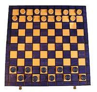 шашки подарочные 10 на 10