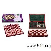 шашки подарочные 8 на 8, код 808